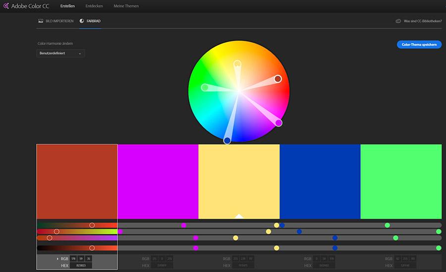 Adobe Farbrad