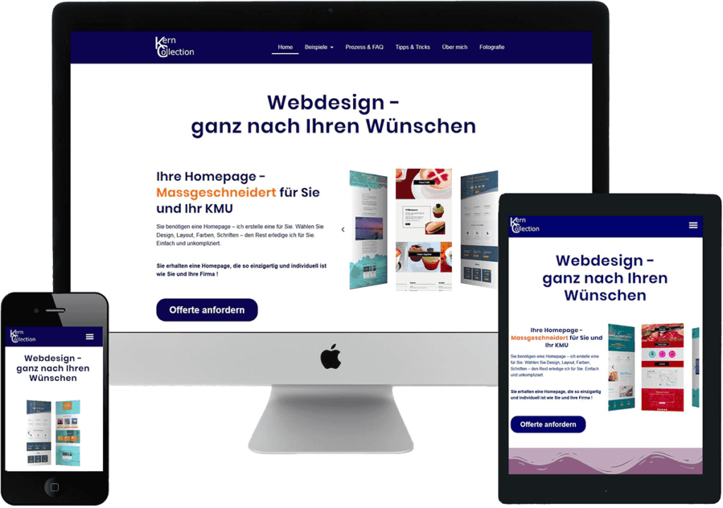 Kern Webdesign Sreenshots